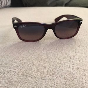 Ray Ban polarized sunglasses